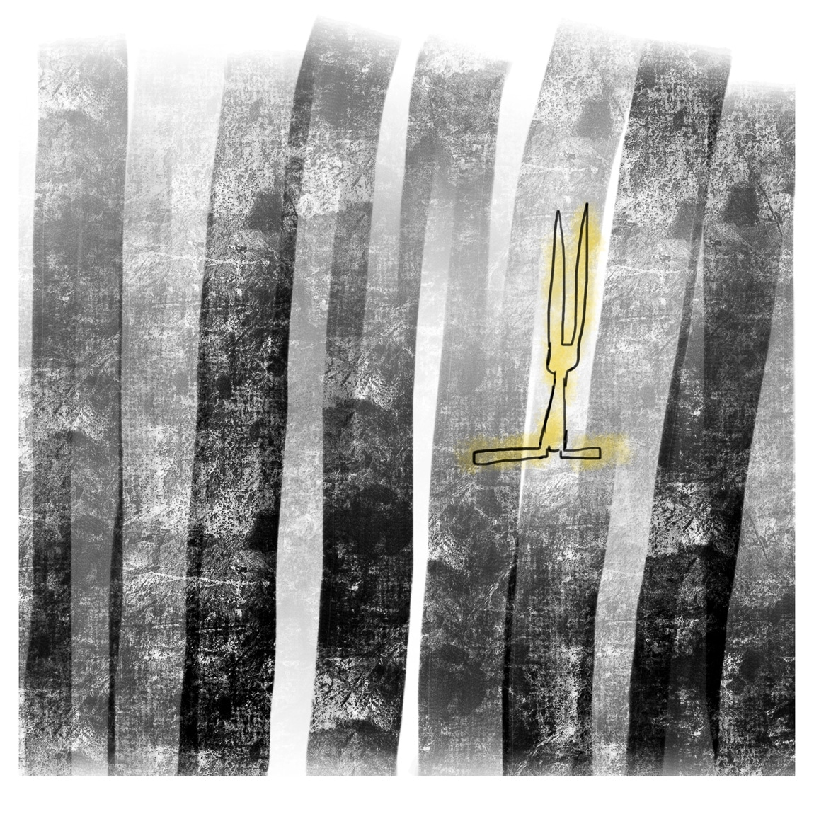 Yellow Rabbit #3 by JAO