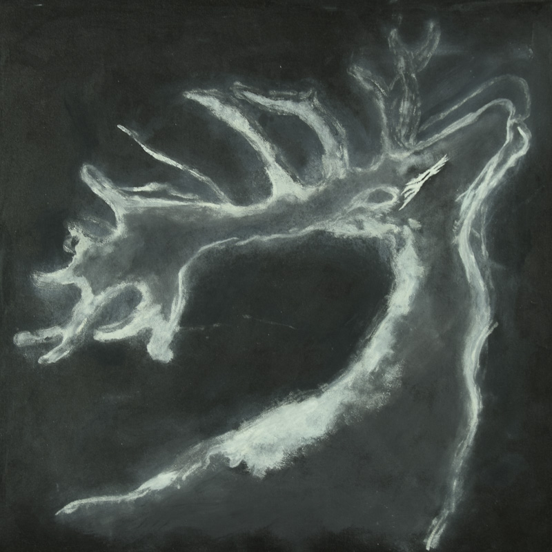 White Stag by JAO
